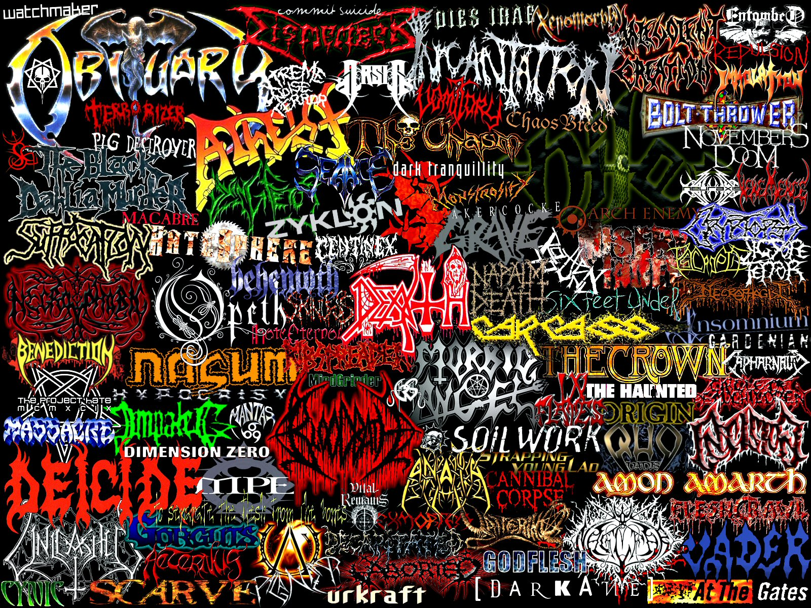 Indonesian Death Metal Wallpaper Metal Band
